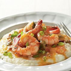 Lowcountry Shrimp and Grits...only in the south!! :)