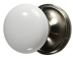 Knob Handle Brushed Nickel Finish 30mm Dia For Cabinet Doors or Drawers cw Screw