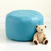 blue pouf ottoman - Bing Images