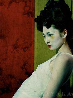 Sayaka Maruyama ( born 1983) ; she draws ,paints ,design ,edits films ,but most of all she photographs .