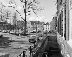 The drained canal on the north side of the Janskerkhof in Utrecht (NL) is the remains of a Middle Ages ditch