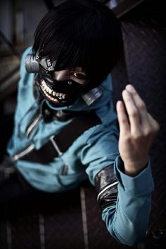 Kaneki Cosplay | Tokyo Ghoul OMG I LOVE THIS