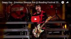 Watch:Green Day - Emenius Sleepus live @ Reading See lyrics here:http://greenday-lyrics.blogspot.com/2012/07/emenius-sleepus-lyrics-green-day.html#lyricsdome