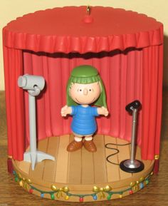 """Love Peanuts? You'll love this Hallmark Keepsake Peanuts Christmas ornament called """"What Christmas is All About ."""" It features Linus reciting from the classic Christmas special, A Charlie Brown Christmas. #christmas #hallmark #linus"""