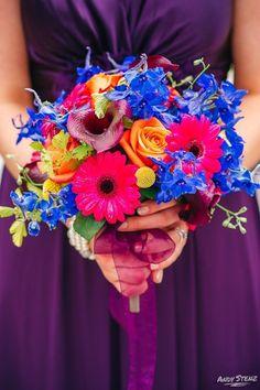 Cheerful Bridesmaid
