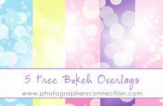 FREE Bokeh Overlays!