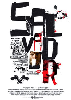 Poster designs created for Spanish feature film, Salvador - design by Bunch