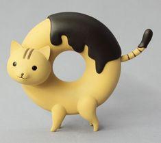 Doughnut Cat Vinyl Figures