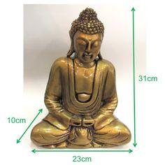Ateliê Le Mimo: ORIENTAIS  Buda médio - peça em gesso