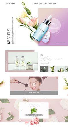웹·모바일 - 클립아트코리아 :: 통로이미지(주) Website Design Inspiration, Best Website Design, Banner Design Inspiration, Website Design Layout, Web Layout, Layout Design, Site Vitrine, Web Mockup, Ecommerce Website Design
