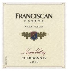 Franciscan Estate Napa Valley Chardonnay: This wine features bright pear, Gala apple, citrus and minerality notes. It has a lovely acidity to balance the fruit and infusion of oak from barrel fermentation.