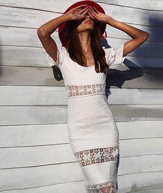@stone_cold_fox  #dress #whitedress @revolve