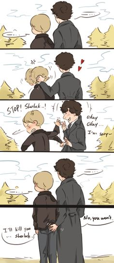 Johnlock (I can't stop saying the last line in Moriarty's voice!) x]