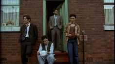 Jimi Mistry, Emil Marwa (front), Raji James, and Chris Bisson star in East is East. <3