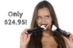 For only $24.95 you can get a naturally whiter smile with no sensitivity!  You will also be contributing to the @world_wildlife fund as 5% of our profits are donated to them!  . . . . . . . . . . . . . . . . #noir #black #charcoal #naturaltoothpaste #activatedcharcoal #flatlay #cosmetics #tan #skincare #clearskin #white #whiteteeth #teethwhitening #healthy #natural #health #fitness #fitspo #australia #new #comingsoon #products #beauty #beautyproducts #vegan #organic by noirbody Our Teeth…