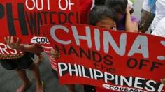 China has defended its construction of infrastructure on disputed islands in the South China Sea.  #China #Philippines #Islands