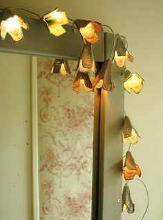 How To: Recycled Egg Carton Fairy Lights. » Curbly | DIY Design Community