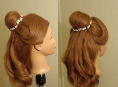 Beauty and Beast - Belle's Hairstyle