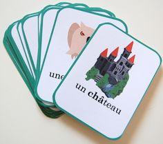 Mistigri French Teaching Resources, Teaching French, Babysitting, Montessori, Alphabet, Preschool, Playing Cards, France, Conte