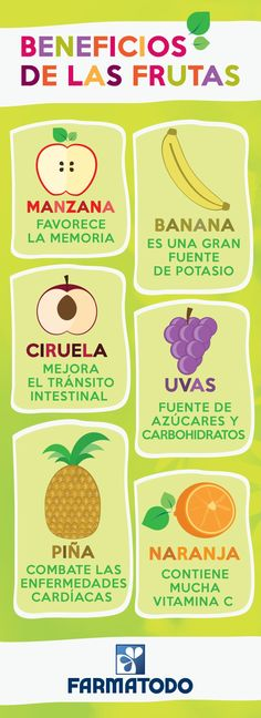 Beneficios fruta