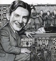 Drew Friedman- he created 'the Karloff' a soundeffects box