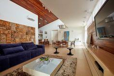 casa ig: Salas de estar modernas por grupo pr | arquitetura e design