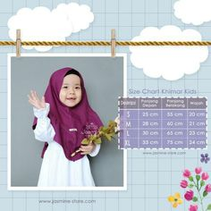 hijab kids Baby Girl Patterns, Baby Clothes Patterns, Dress Sewing Patterns, Clothing Patterns, Baby Hijab, Baby Clothes Sizes, Dress Anak, Stylish Hijab, Gowns For Girls