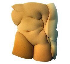 Etienne Gros: Nudes in Foam (@ It's Nice That)