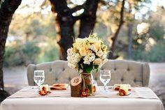 sweetheart table.