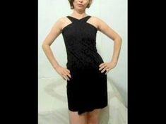 Como fazer um lindo vestido em dois minutos e sem costura - YouTube