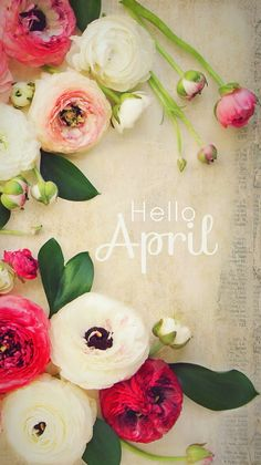 Hello April#wallpaper iPhone