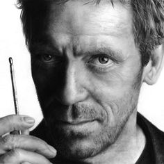 Dr. House - A pencil drawing by Thubakabra
