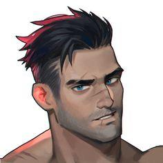 Comic Character, Character Concept, Concept Art, Cyberpunk Character, Handsome Anime Guys, Character Design Inspiration, Male Character Design, Guy Drawing, Boy Art