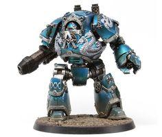 40k - Alpha Legion Contemptor Dreadnought by Forge World