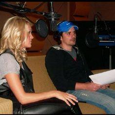 Brad and Carrie workin on CMA stuff...:)