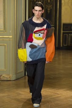 Catwalk photos and all the looks from Walter Van Beirendonck Autumn/Winter 2015-16 Menswear Paris Fashion Week