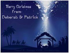 MERRY CHRISTMAS FROM DEBORAH & PATRICK