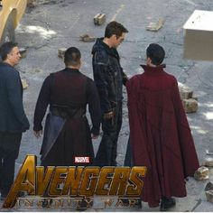 "1,020 Likes, 24 Comments - That One Marvelous Guy (@the_marvelous_guy) on Instagram: ""New picture from the set of Avengers: Infinity War with Bruce Banner, Wong, Tony Stark and Doctor…"""