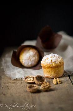 Un muffin alle noci e un nuovo libro per Cakes lab