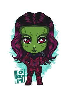 #GuardiansOfTheGalaxy! #Gamora looking forward to some major kickassery!! @zoesaldana #Marvel