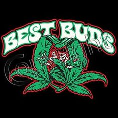 Cartoons Smoking Weed | Best Buds T Shirt Funny Smoking Pot Leaf Weed 420 Joint Fun NY Biker ...