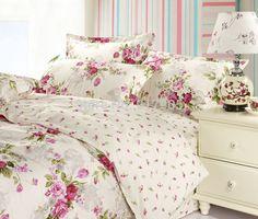 Romantic-American-Country-Style-Girls-Vintage-Floral-Bedding-Set-Elegant-Girls-Bedding-Set-Full-Size-Designer.jpg (750×636)