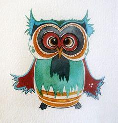 'Owl' by Audrey De Ford