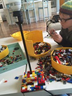 IKEA LEGO LAMP HACK