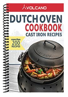 The best Dutch oven cookbook out there for camping and cooking on a Volcano Grill