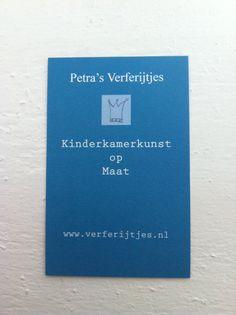 Petra's Verferijtjes: Kinderkamerkunst op Maat www.verferijtjes.nl