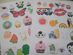 "Pascua pegatinas Sticker /""colorido pollos/"" Magic Puffy"