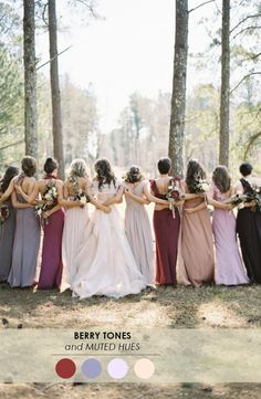 18 Fall Wedding Color Palettes - The Ultimate Guide http://www.theperfectpalette.com/2014/09/18-fall-wedding-color-palettes-ultimate.html