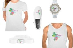Miami Style Fashion designer T-shirts, belts,shoes and watches. Designs by Inge  http://www.zazzle.com/ingeinc/gifts?cg=196051138522920503
