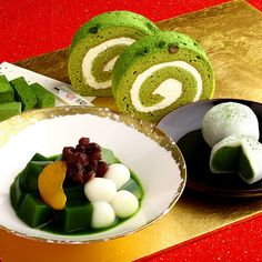 Japanese Dessert: attracted by the swiss roll
